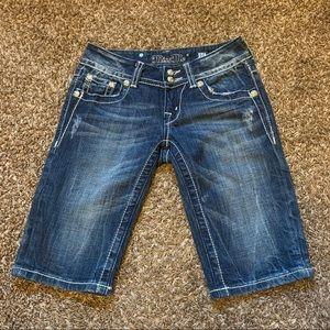 Miss Me Bermuda Jeans Shorts